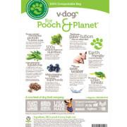 v-dog vegan dog kibble back