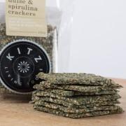 Kitz Living Fresh Herb Dulce Spirulina Crackers