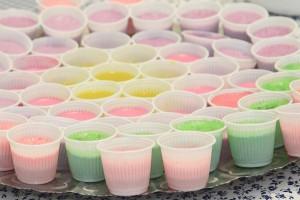 jelly cups gelatine