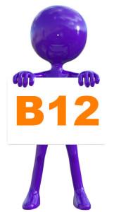 vitamin b12 vegan sign