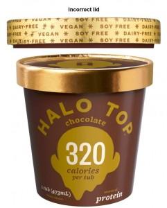 Halo top chocolate ice cream product recall